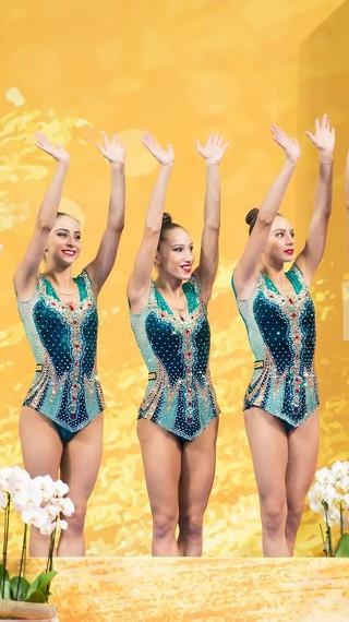 Тя игра за златен медал, въпреки че майка ѝ получи инсулт