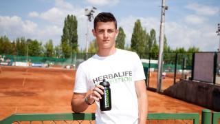 Herbalife Nutrition стана спонсор на изгряващата тенис звезда Александър Лазаров