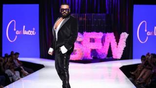 Азис стъпи на модния подиум (Снимки)