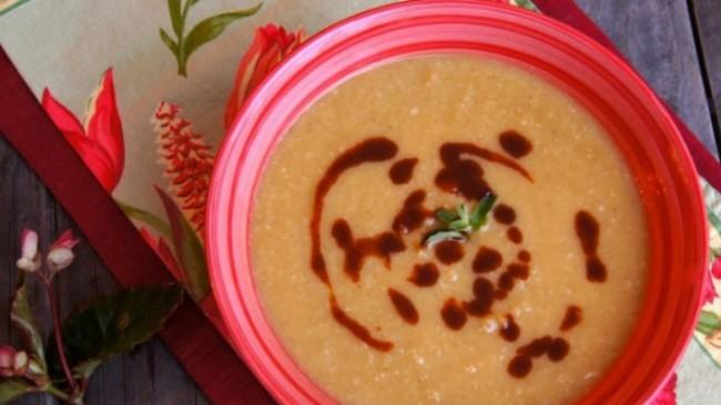 Супа от нахут с праз