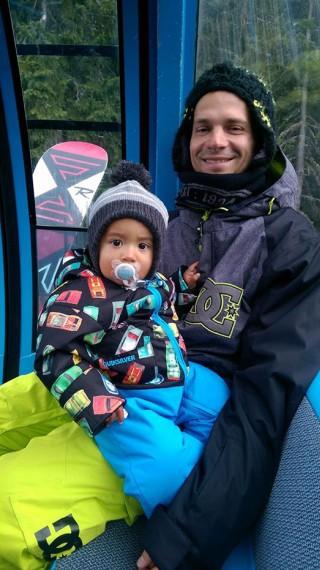 Део става баща за втори път през февруари