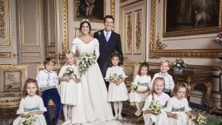 Ето ги официалните снимки от сватбата на принцеса Юджийн (Галерия)