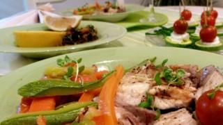 Риба и зеленчуци на пара