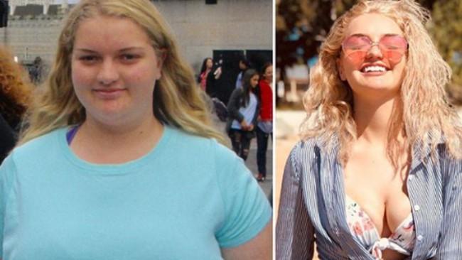 Как тя отслабна повече от 60 килограма за година