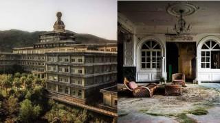 Перфектното място за филм на ужасите: Най-големият изоставен хотел в Япония