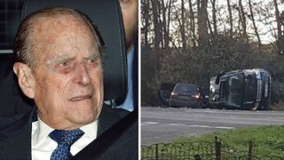 97-годишният принц Филип удари кола с бебе