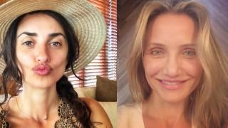 Как изглеждат актрисите над 40 без грим?