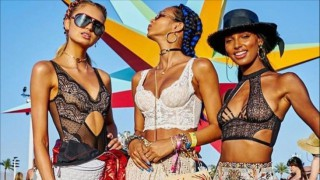 Топ-модели на фестивалa Coachella 2019