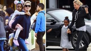 Чарлийз Терон разкри защо облича сина си като момиче (снимки)