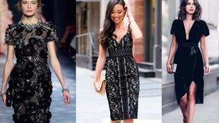 Малката черна рокля - униформата на жените с вкус