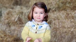 Принцеса Шарлот стана на 4! Вижте я!
