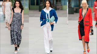 Белослава Хинова част от грандиозното  първо ревю на Виржини Виар за Chanel