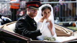 Вижте невиждани досега снимки от сватбата на Меган и Хари