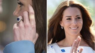 Защо Кейт винаги носи лепенки на пръстите си?