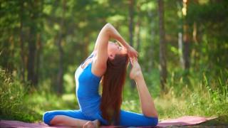 Как да правим йога в парка