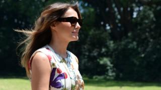 Слънчевите очила - тайното оръжие на Мелания Тръмп