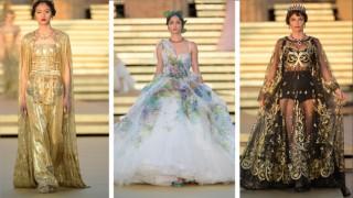 Легенди и митология: Alta moda уикенд на Dolce & Gabbana в Сицилия
