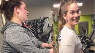 Невероятна промяна: Момиче свали 50 кила с домашна храна