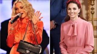 Моден сблъсък: Мадона срещу Кейт