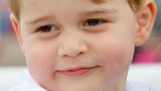Няма такъв бонбон! Принц Джордж стана на шест (снимки)