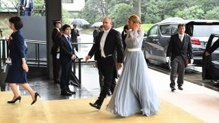 Президентшата Деси Радева засенчи всички дами в Япония