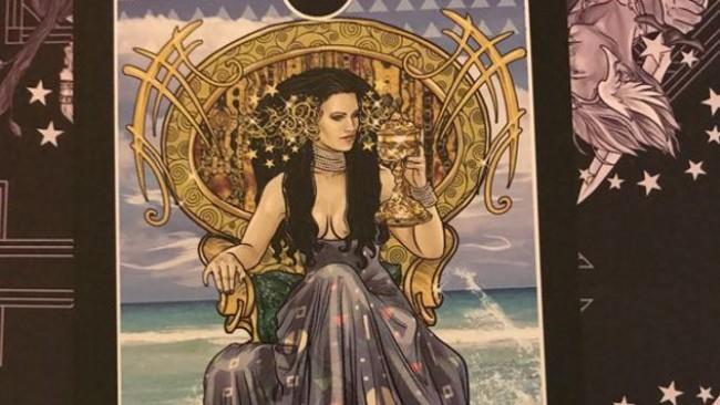Vashata Karta Taro Za Denya Kralica Chashi Astrologiya Za Vseki Den