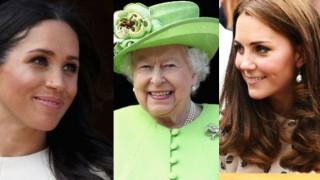 Няма да повярвате! Елизабет II и снахите ѝ се гримират сами