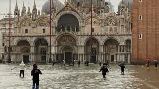 Венеция потъва. Задава се трета приливна вълна! (Галерия)