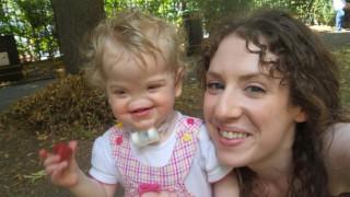 Историята на Теса Евънс: Момиченцето, родено без нос