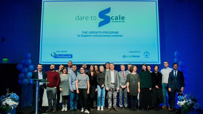 Програмата Dare to Scale на Endeavor ще прерасне в устойчива платформа
