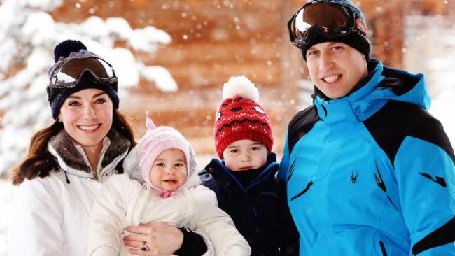 Коледната картичка, с която Уилям и Кейт развълнуваха цял свят