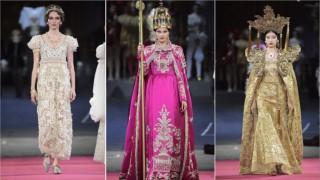 Dolce & Gabbana показаха разкошно шоу в Ла Скала, вдъхновено от операта