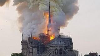 Пожарът в Нотр Дам е най-коментираната новина за 2019-та