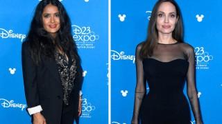 Салма Хайек показа как изглежда без грим Анджелина Джоли