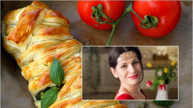 Да готвим с Ани Шакарян: Плетено руло с плънка от пиле, броколи и сос бешамел