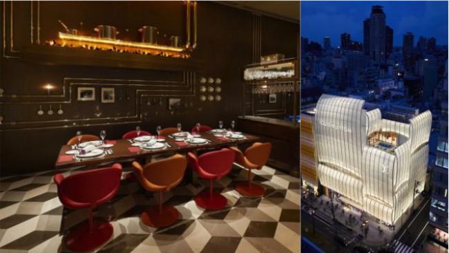 Как изглежда първият в света ресторант Louis Vuitton