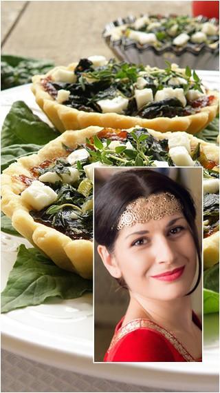 Да готвим с Ани Шакарян: Тарталети с козе сирене, спанак и сладко от лук
