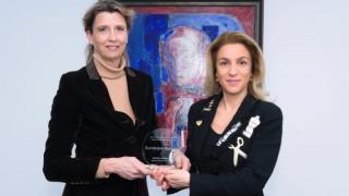Пощенска банка бе удостоена с награда за устойчив бизнес растеж