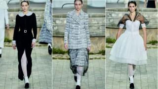 Джиджи Хадид като секси монахиня в новата колекция висша мода на Chanel