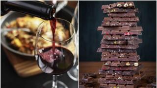 Шоколадът и червеното вино помагат срещу вирусите