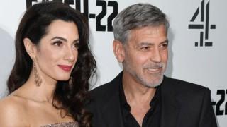 Буря потопи дома на Джордж и Амал Клуни в Южна Англия