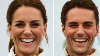 Вижте как биха изглеждали Кейт Мидълтън и Меган Маркъл като мъже (Снимки)
