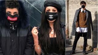 Маски на Chanel - новата мания против грип в Италия