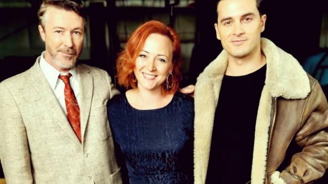 Ексклузивна среща с двама обичани актьори - Ейдън Гилън и Майкъл Маларки