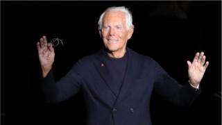Джорджо Армани шие медицински облекла за борбата с коронавируса