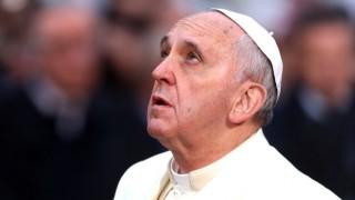 Вижте извънредната благословия на папа Франциск