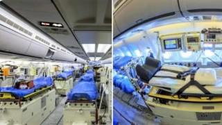 Германия създаде първата летяща болница в света