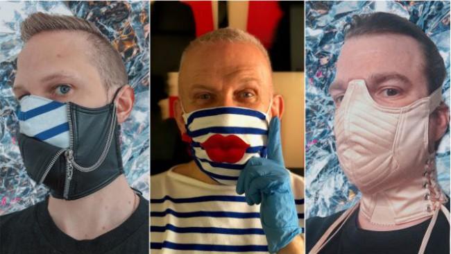 Да носим маска с оптимизъм и стил като Жан-Пол Готие