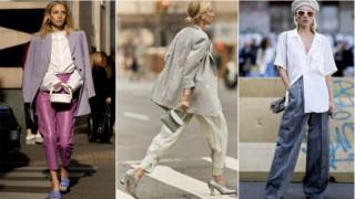 Streetstyle: Модерни панталони за дъждовни пролетни седмици