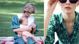 Принцеса Даяна е отново вдъхновение за ZARA